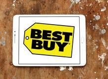 Logotipo de la tienda de Best Buy foto de archivo libre de regalías