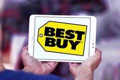 Logotipo de la tienda de Best Buy imagen de archivo