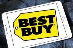 Logotipo de la tienda de Best Buy fotos de archivo