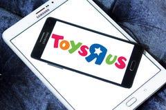 Logotipo de la tienda de los niños de Toys R Us Imágenes de archivo libres de regalías