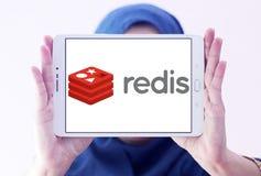 Logotipo de la tienda de la estructura de datos de Redis foto de archivo