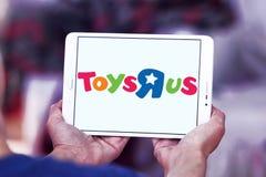 Logotipo de la tienda de los niños de Toys R Us Foto de archivo