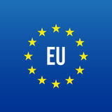 Logotipo de la UE Unión europea libre illustration