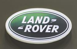 Logotipo de Land Rover Imágenes de archivo libres de regalías