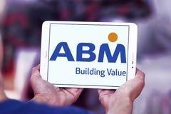 Logotipo de las industrias del ABM imágenes de archivo libres de regalías