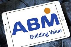 Logotipo de las industrias del ABM fotos de archivo libres de regalías