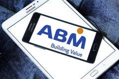 Logotipo de las industrias del ABM fotografía de archivo