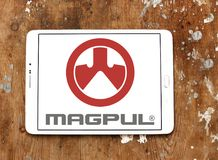 Logotipo de las industrias de Magpul imagenes de archivo