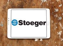 Logotipo de las industrias de Stoeger fotografía de archivo
