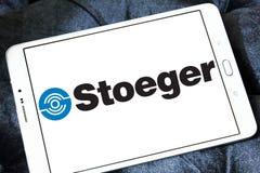 Logotipo de las industrias de Stoeger fotos de archivo