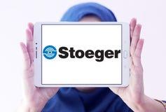 Logotipo de las industrias de Stoeger fotos de archivo libres de regalías