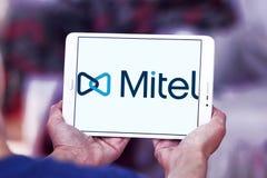 Logotipo de las redes de Mitel Imágenes de archivo libres de regalías