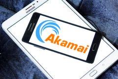 Logotipo de las tecnologías de Akamai Imagenes de archivo