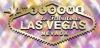 Logotipo de Las Vegas stock de ilustración