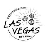 Logotipo de Las Vegas Vector y ejemplo de Las Vegas stock de ilustración