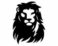 Logotipo de leo del león fotografía de archivo libre de regalías