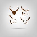 Logotipo de los alces Ilustración del Vector