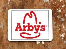 Logotipo de los alimentos de preparación rápida de Arbys Fotos de archivo