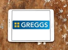 Logotipo de los alimentos de preparación rápida de Greggs Fotografía de archivo