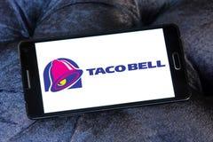 Logotipo de los alimentos de preparación rápida de Taco Bell Imágenes de archivo libres de regalías