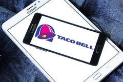 Logotipo de los alimentos de preparación rápida de Taco Bell Imagen de archivo libre de regalías