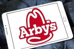Logotipo de los alimentos de preparación rápida de Arbys Imagen de archivo libre de regalías