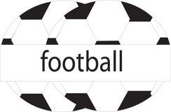 Logotipo de los balones de fútbol ilustración del vector