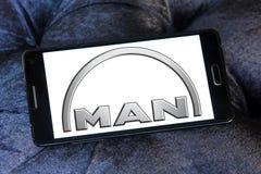 Logotipo de los coches del hombre Foto de archivo