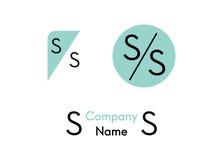 Logotipo de los cosméticos Fotografía de archivo