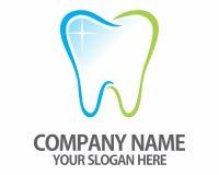 Logotipo de los dentistas del diente de Teet imagen de archivo