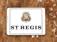 Logotipo de los hoteles de St Regis fotos de archivo