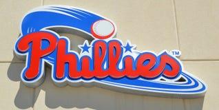 Logotipo de los Philadelphia Phillies imágenes de archivo libres de regalías