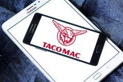 Logotipo de los restaurantes del mac del taco Fotografía de archivo libre de regalías