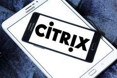 Logotipo de los sistemas de Citrix Fotografía de archivo