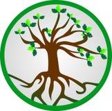 Logotipo de madera Fotografía de archivo libre de regalías