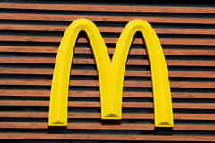 Logotipo de Mc Donald Fotos de Stock Royalty Free