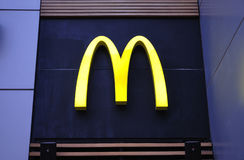 Logotipo de McDonald's Imagem de Stock Royalty Free