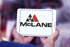 Logotipo de McLane Company Fotos de archivo libres de regalías