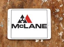 Logotipo de McLane Company Foto de archivo