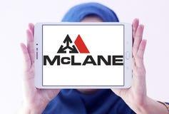 Logotipo de McLane Company Fotografía de archivo libre de regalías