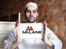 Logotipo de McLane Company Fotos de archivo
