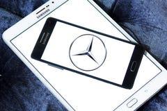 Logotipo de Mercedes Fotografia de Stock Royalty Free