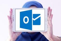 Logotipo de Microsoft Outlook fotos de stock royalty free