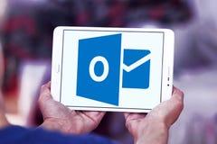 Logotipo de Microsoft Outlook fotografia de stock