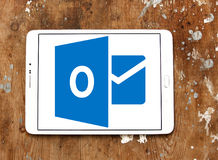 Logotipo de Microsoft Outlook imagens de stock royalty free