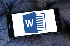 Logotipo de Microsoft Word Fotos de Stock