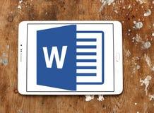 Logotipo de Microsoft Word Imagem de Stock Royalty Free