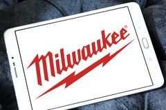 Logotipo de Milwaukee Electric Tool Corporation Foto de archivo