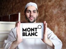 Logotipo de Montblanc imagenes de archivo