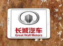 Logotipo de Motores Empresa do Grande Muralha Foto de Stock